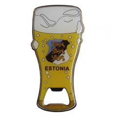 Magnet metal - beer glass