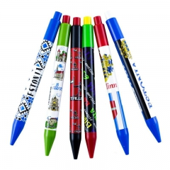 Pen with Estonian symbols