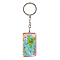 Keychain with Estonian symbols