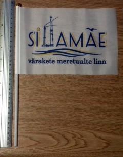 Flag of Sillamäe