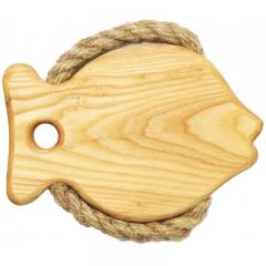 Подставка под горячее - 1 рыба
